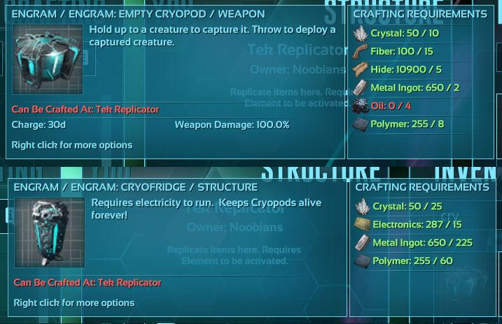 Cryotech 4 PVE - General - ARK - Official Community Forums