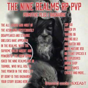 pvp] Best Prim+ RP Server! [[ The 9 Realms ]] Nitrado pvp