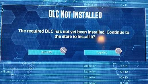 PS4 Extiction DLC Not Installed - Bug Reports & Support