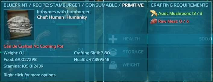 Coney S Guide To Making The Best Custom Consumables General Discussion Ark Official Community Forums