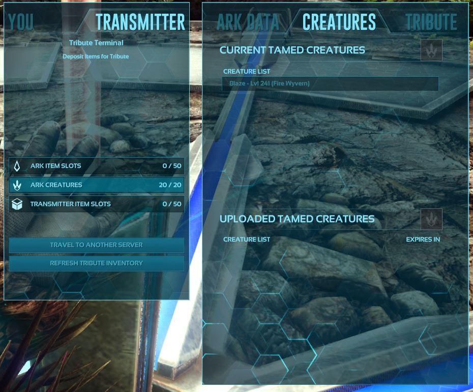 Entire Tribe's Uploaded Dinos Vanished - Server