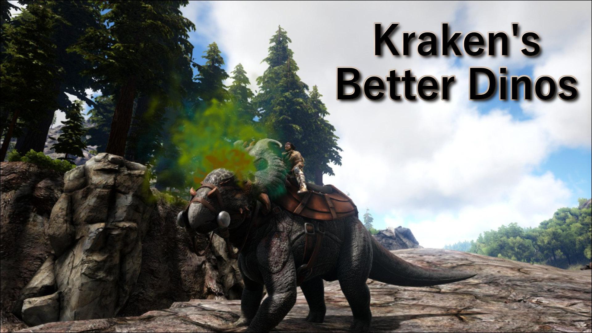 Kraken's Better Dinos - ARK - Official Community Forums
