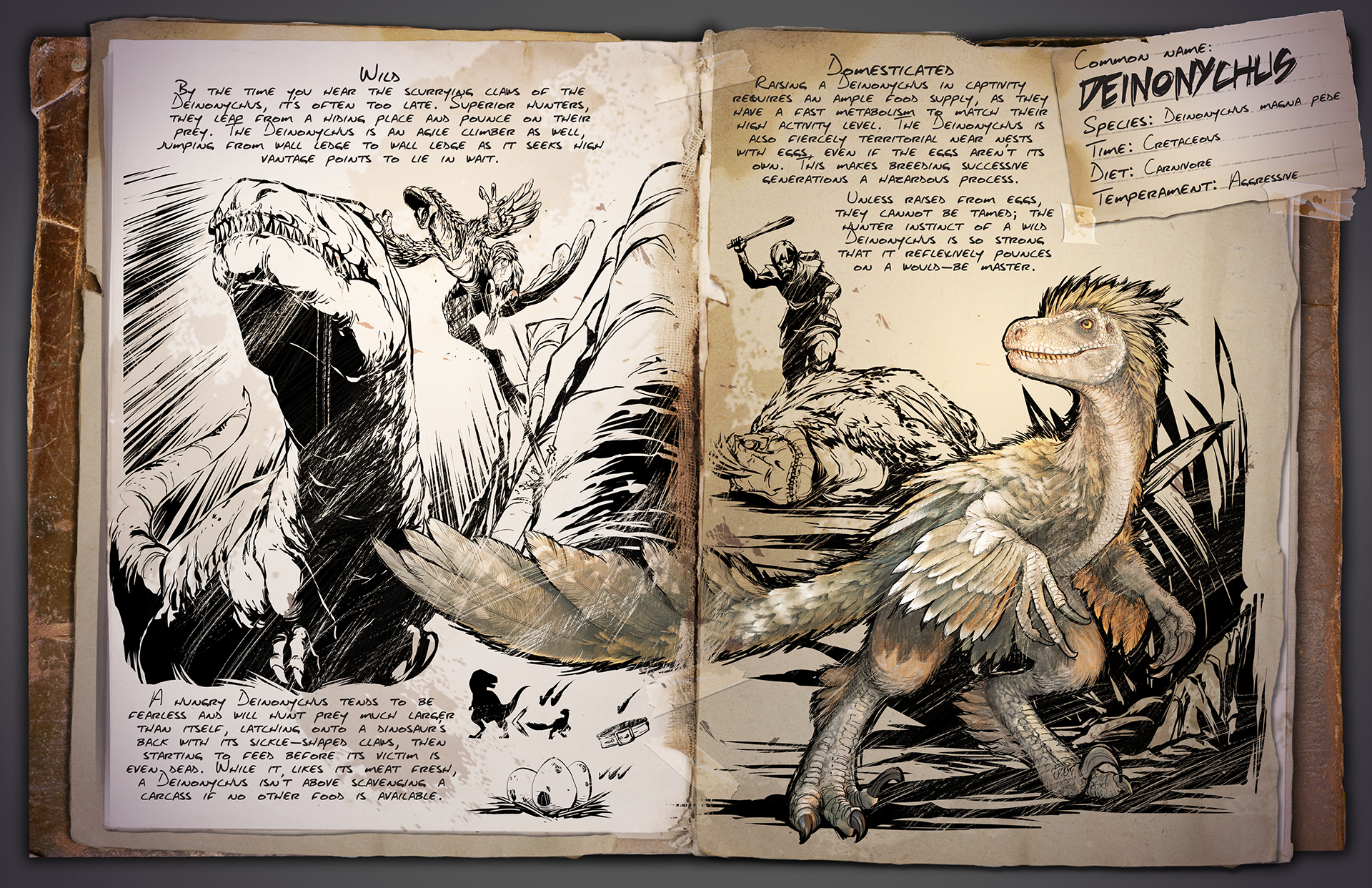Introducing the Deinonychus! - ARK News - ARK - Official