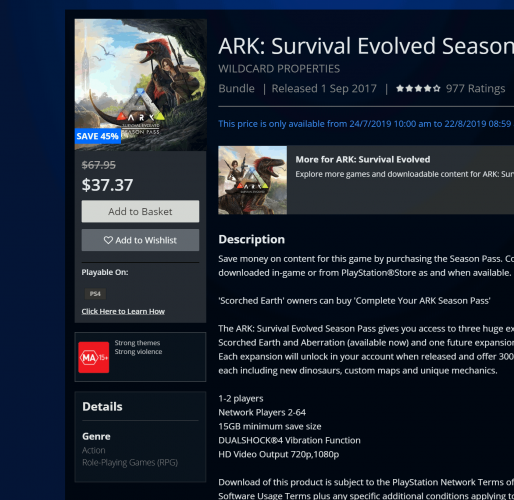 Season pass - General Discussion - ARK - Official Community Forums