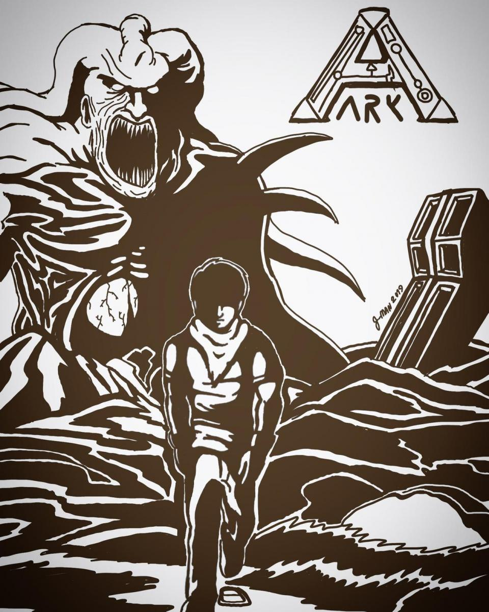 Sam in ARK: battle for Earth