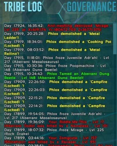 tribe-log-anit-mesh-destroy.JPG