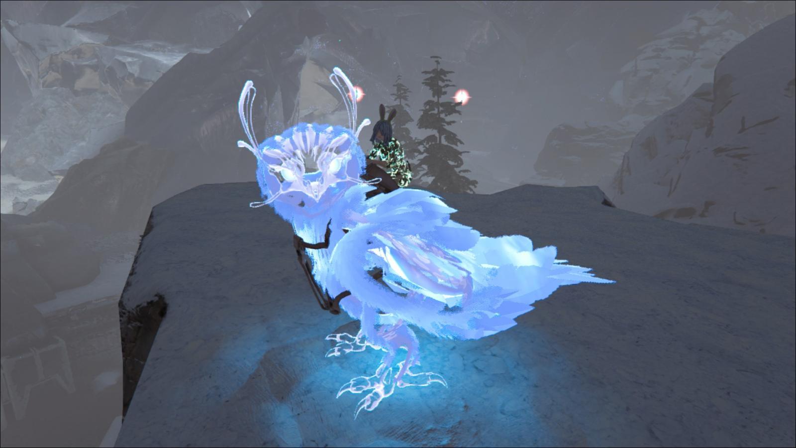 Ghost Snow Owl Skin