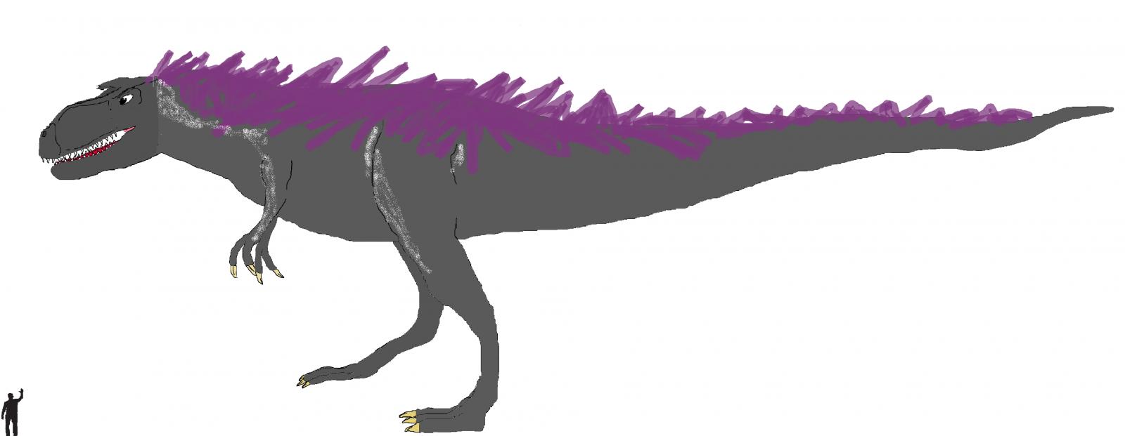 Anthropalyptic Creations: Gorgosaurus glacies TLC.