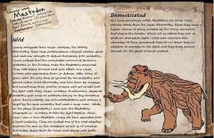 ARK Fanmade Creature Dossier: Mastodon